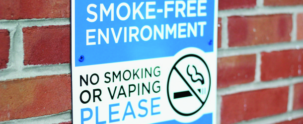 Smoking, non-smoking students react to new smoke-free zones and express need for compromise on smoking areas