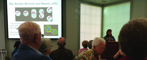 Biology professor discusses new cancer medications, treatments