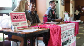 Colleges Against Cancer collects bras for bra chain