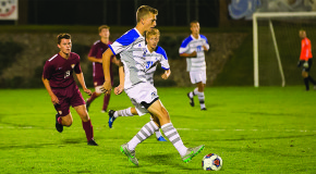 Men's soccer remains undefeated in conference, defeats Catholic