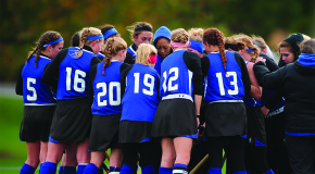 Field hockey defeats Susquehanna, captures Landmark title