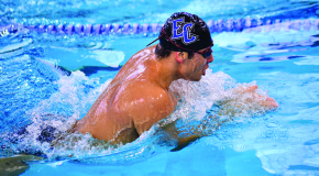 Men's, women's swim teams drop Landmark meets to Catholic