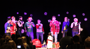 Phalanx showcases talents, holds ugly sweater contest