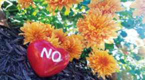 """Learn how to say """"no"""" to yourself and others"""