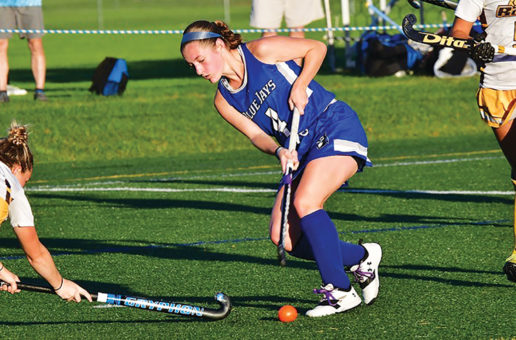 Field hockey victorious in last away game of the season