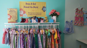 Etown Sewing Studio provides dresses, dolls to girls in need