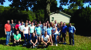 Etown students host students from Konstanz University, Germany