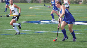 Field hockey team falls 3-4 to Juniata College in a shootout on senior day
