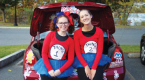 Senate's annual Trunk-or-treating event brings kids to campus