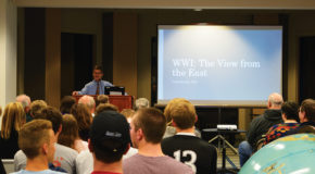 Final event of World War I lecture series shares view from the East