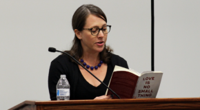 Author excites audience with original creative writing prompts