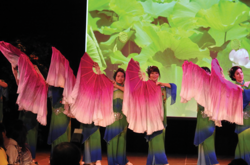 Students celebrate Chinese Lunar New Year with food, dance performances