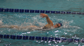 Men's swimming wins by two, women's record drops to 4-8
